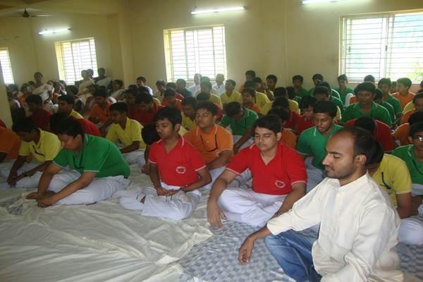 Yog & Bhawatit Dhyan on International Yog Diwas.
